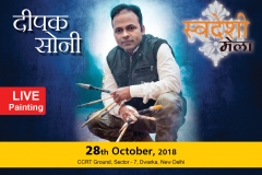 Deepak-Soni-Live-Painting